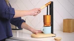 Lever-Press Espresso Maker from Newton