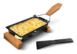 Portable Cheese Melt Raclette