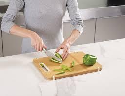 Slice & Sharpen Wood Cutting Board