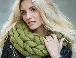 Wool Cowl from Macaron Merino
