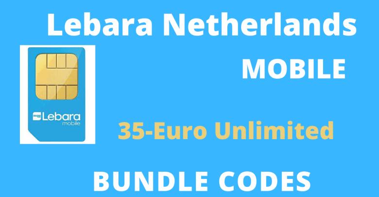 Lebara Netherlands Under 35-Euro Bundle Codes