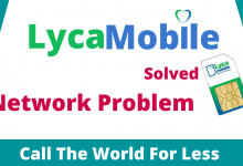 Lycamobile Network Problem solved