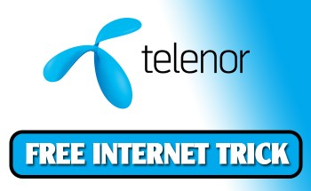 Telenor Free Internet Trick Latest Updated 100% Working Methods